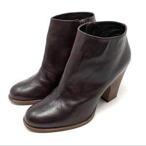 Stuart Weitzman Brown Leather Booties Size 8